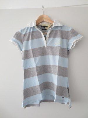 Verkaufe Poloshirt von Tommy Hilfiger, Gr. 36/S, Slim Fit mit Sto