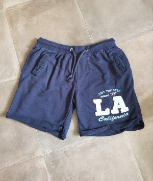 Jersey Pants pale blue-dark blue