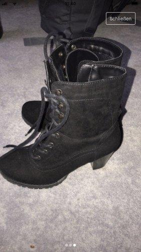 Verkaufe Stiefel mit Absatz