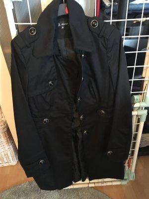 100% Fashion Cappotto mezza stagione nero