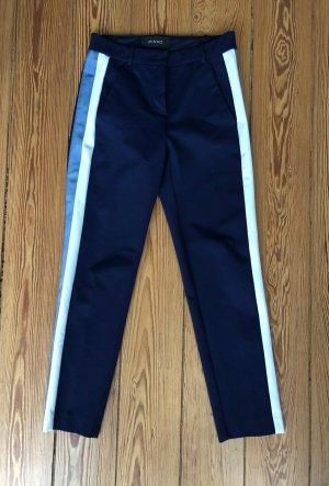 Pinko Pantalone a 7/8 blu scuro Viscosa