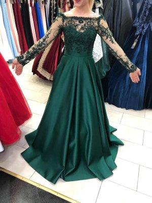 Wedding Dress forest green