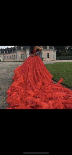 cinderella Evening Dress red