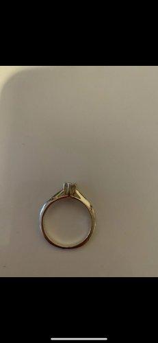 Verlobungsring , echt Silber