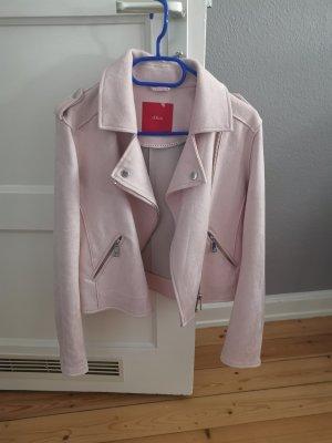 s. Oliver (QS designed) Giacca da motociclista rosa pallido