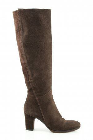 Vero Cuoio Heel Boots brown business style