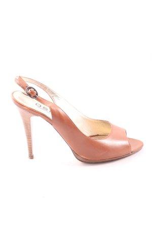 Vero Cuoio High Heel Sandaletten braun Elegant