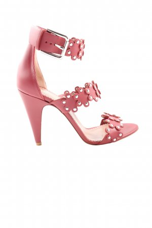 High Heel Sandaletten pink Casual-Look