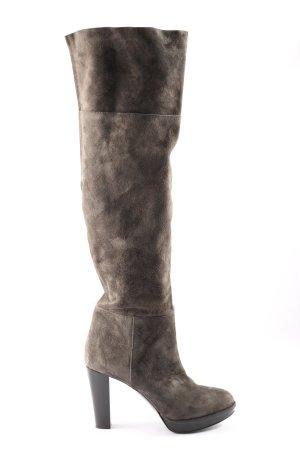Vero Cuoio High Heel Stiefel braun Business-Look