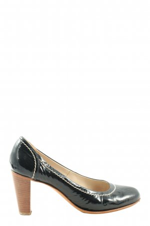 Vero Cuoio High-Front Pumps black business style