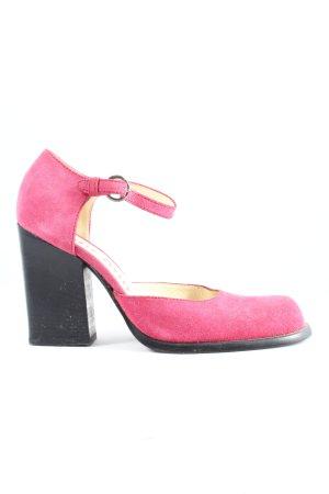Miu Miu Hochfront-Pumps pink Business-Look