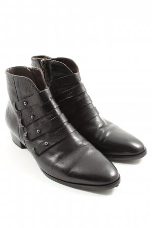 Vero Cuoio Keil-Stiefeletten schwarz Casual-Look