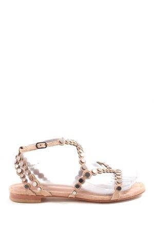 Vero Cuoio Komfort-Sandalen nude Casual-Look