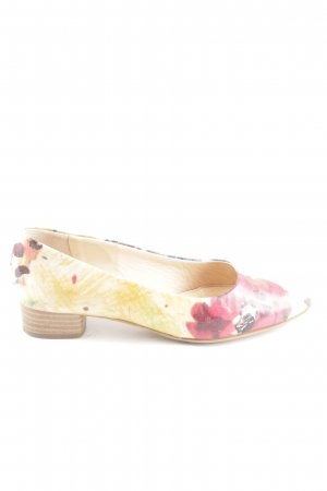 Vero Cuoio Richelieus Shoes primrose-red flower pattern casual look