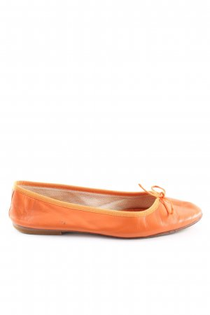 Vero Cuoio Slingback Ballerinas light orange casual look