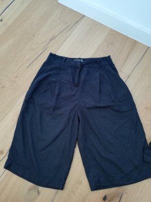 Vero Moda Pantalone culotte nero-argento