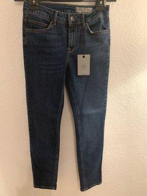 Vero Moda Jeans met rechte pijpen blauw