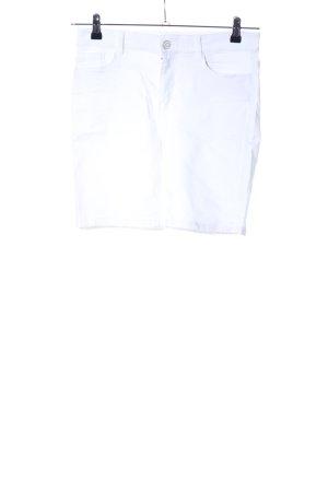 Vero Moda 3/4-Hose weiß Casual-Look