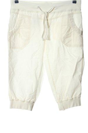 Vero Moda Pantalone a 3/4 bianco stile casual