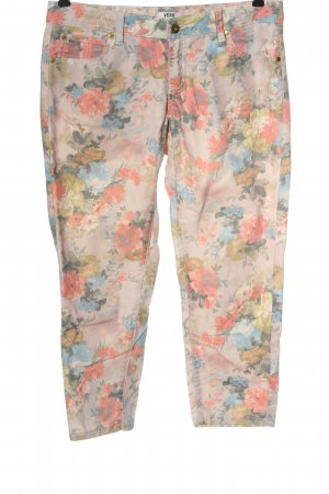 Vero Moda 7/8 Length Trousers allover print casual look