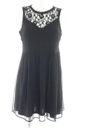 Vero Moda A-Linien Kleid schwarz Elegant