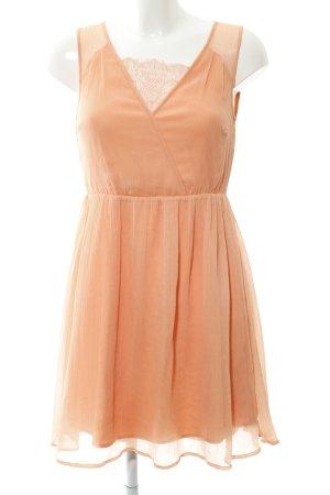 Vero Moda A-Linien Kleid apricot Casual-Look