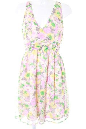 Vero Moda A-Linien Kleid Blumenmuster Romantik-Look