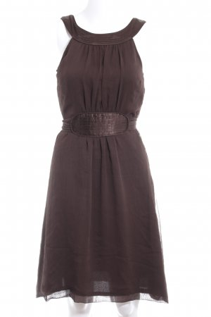 Vero Moda A-Linien Kleid dunkelbraun Elegant
