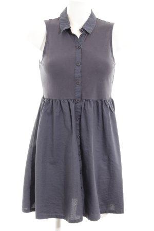 Vero Moda A-Linien Kleid graublau Casual-Look