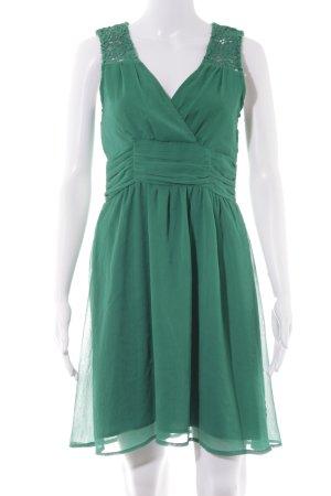 Vero Moda A-Linien Kleid waldgrün Casual-Look
