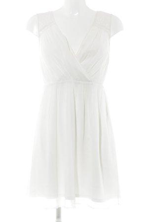 Vero Moda A-Linien Kleid weiß Romantik-Look