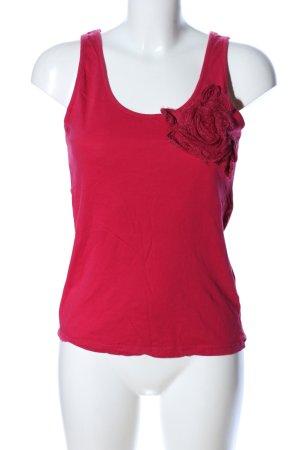 Vero Moda Top o kroju litery A czerwony W stylu casual
