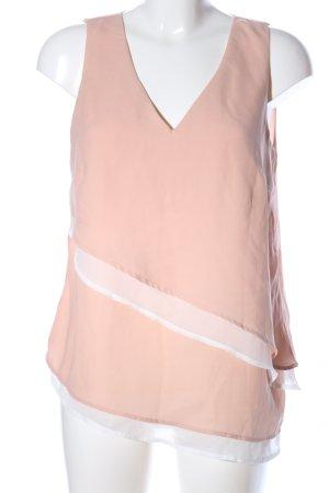 Vero Moda A-Linien Top nude-weiß Casual-Look