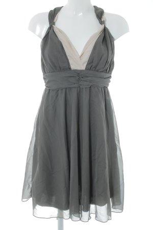 Vero Moda Abendkleid grau-rosé Elegant