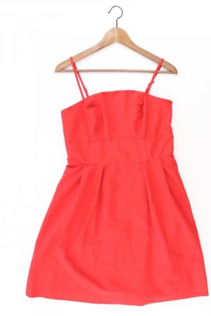 Vero Moda Abendkleid Größe 38 Träger rot aus Polyester