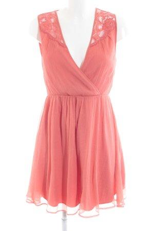 Vero Moda Abendkleid lachs Casual-Look