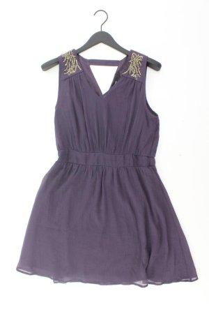 Vero Moda Abendkleid mit Pailletten Größe L Träger lila aus Polyester
