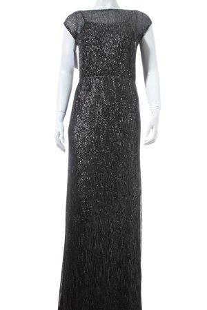 Vero Moda Abendkleid schwarz-silberfarben Party-Look