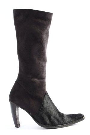 Vero Moda Absatz Stiefel braun-schwarz Casual-Look