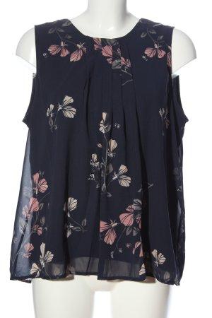 Vero Moda ärmellose Bluse Blumenmuster Casual-Look