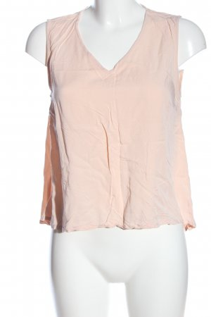 Vero Moda ärmellose Bluse creme Casual-Look