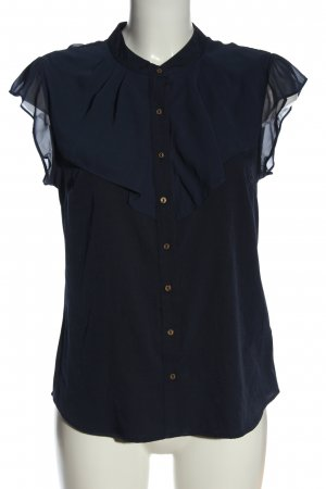 Vero Moda ärmellose Bluse blau Business-Look