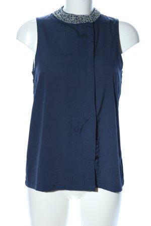 Vero Moda Blusa sin mangas azul look casual