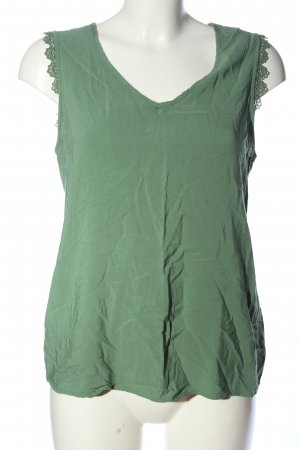 Vero Moda ärmellose Bluse grün Casual-Look
