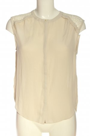 Vero Moda ärmellose Bluse creme Business-Look