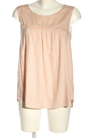Vero Moda ärmellose Bluse nude Casual-Look