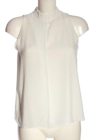 Vero Moda ärmellose Bluse wollweiß Elegant