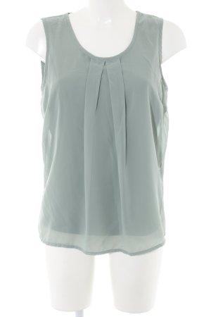 Vero Moda ärmellose Bluse khaki Casual-Look