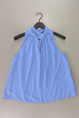 Vero Moda Ärmellose Bluse Größe L blau aus Polyester