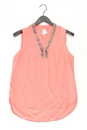 Vero Moda Ärmellose Bluse Größe M mit Pailletten orange